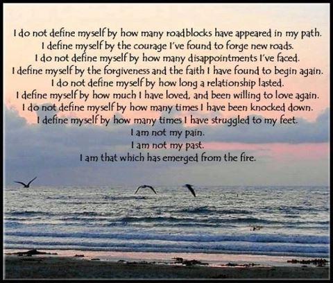 Defining myself